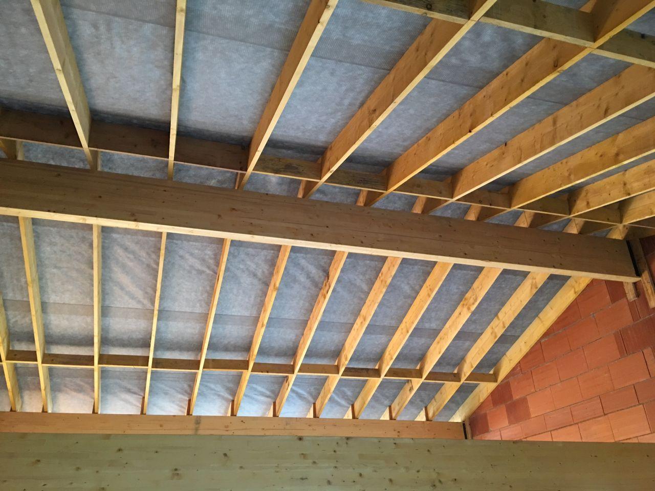 charpente traditionnelle écran sous toiture