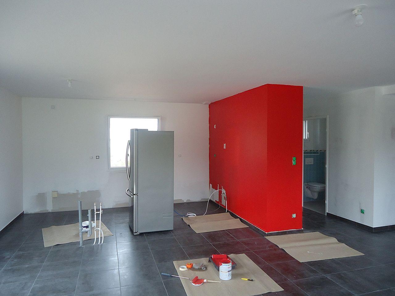 Dalles abri de jardin fa ence wc et salle de bain for Pb choix peinture cuisine