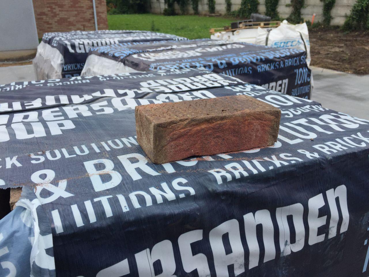 Livraison des briques