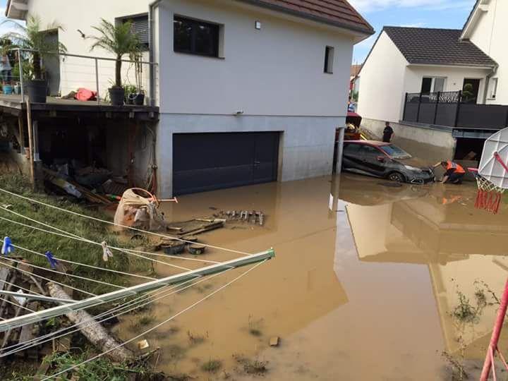 Nouvelle inondation