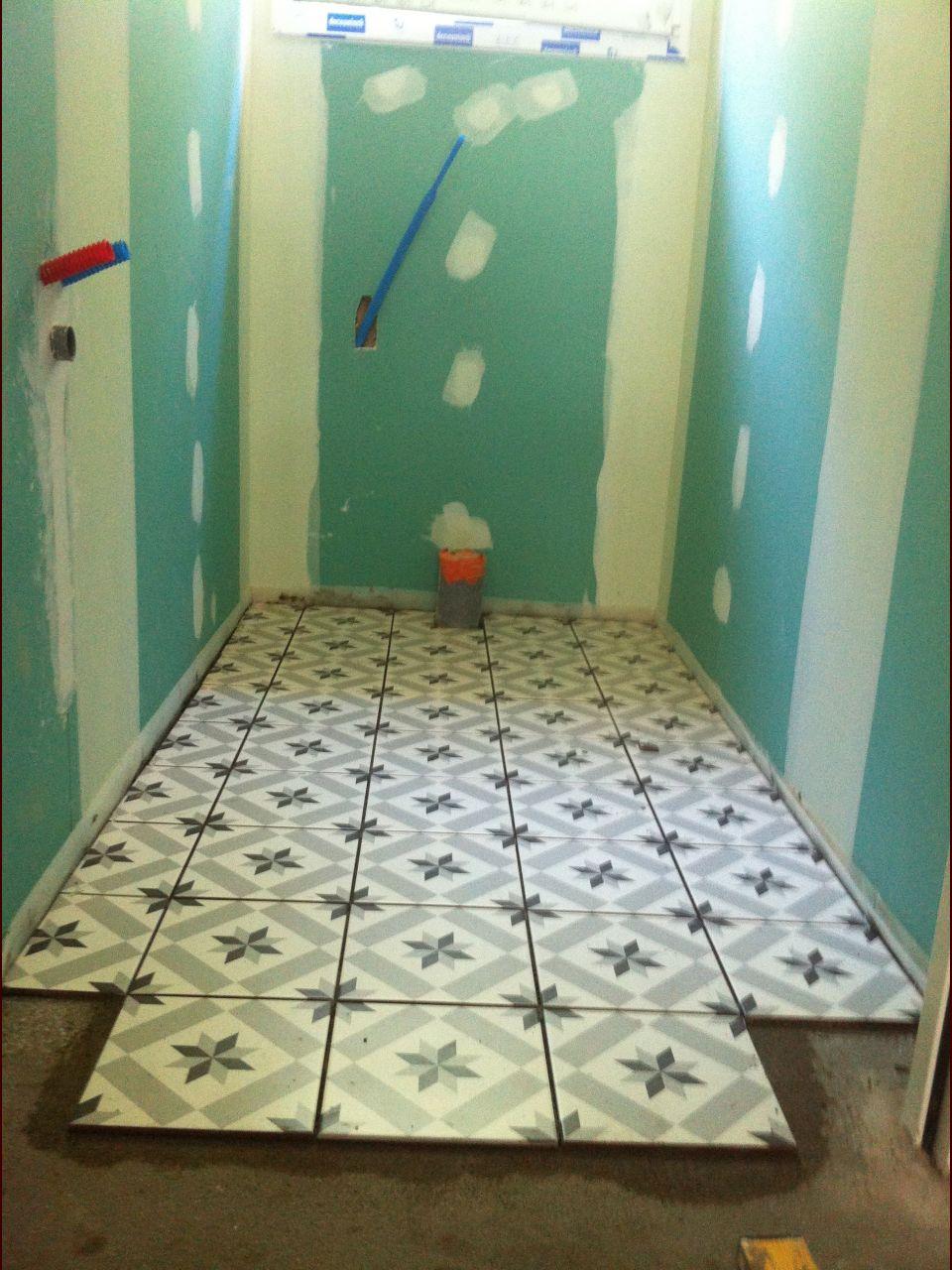 Carrelage des WC