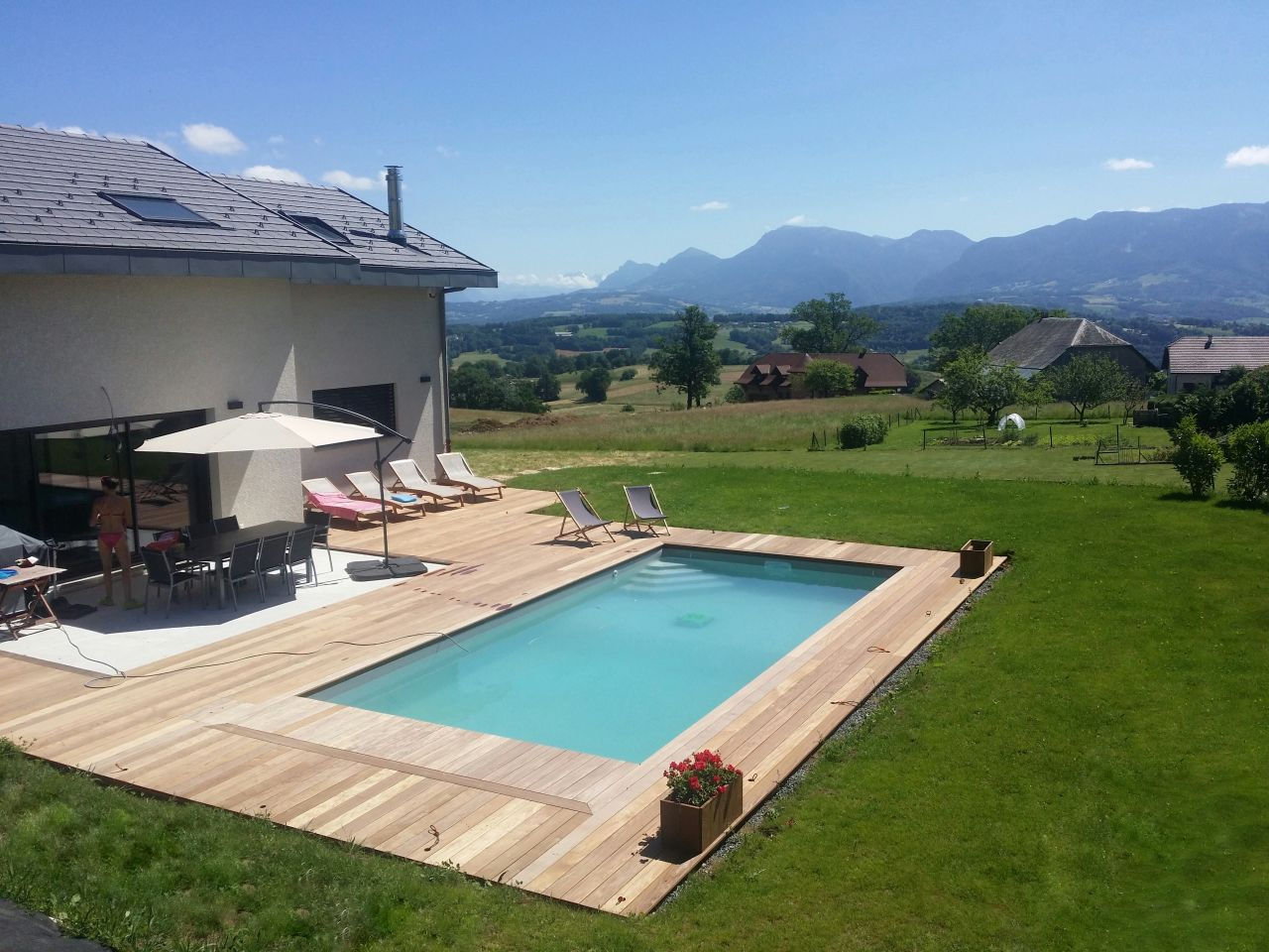 Déco générale du jardin - Haute Savoie (74) - juillet 2016 - Photo #1410176 par Jaijai74