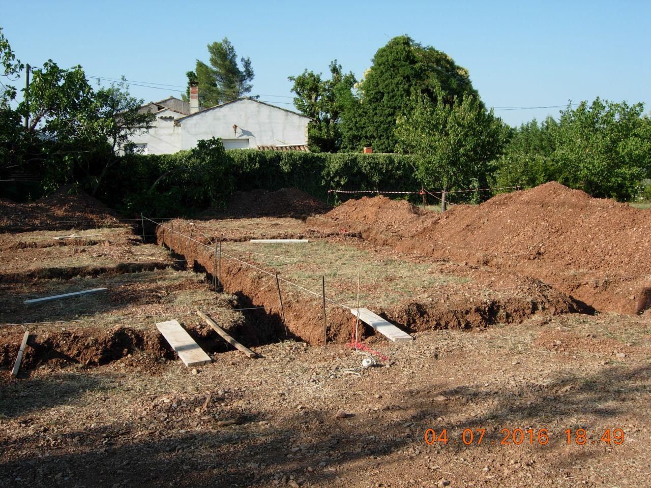 Ferraillage fondation ca bosse vide sanitaire for Fondation vide sanitaire