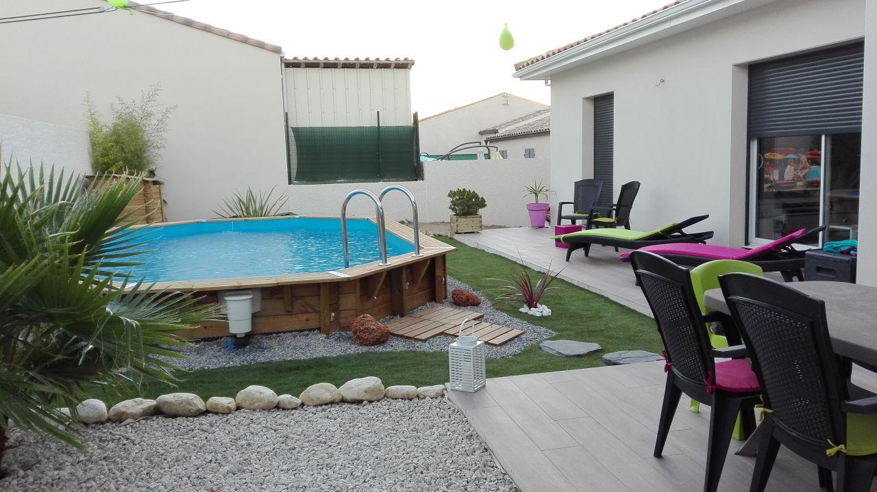 amenagement petit jardin avec piscine. best ordinaire amenagement