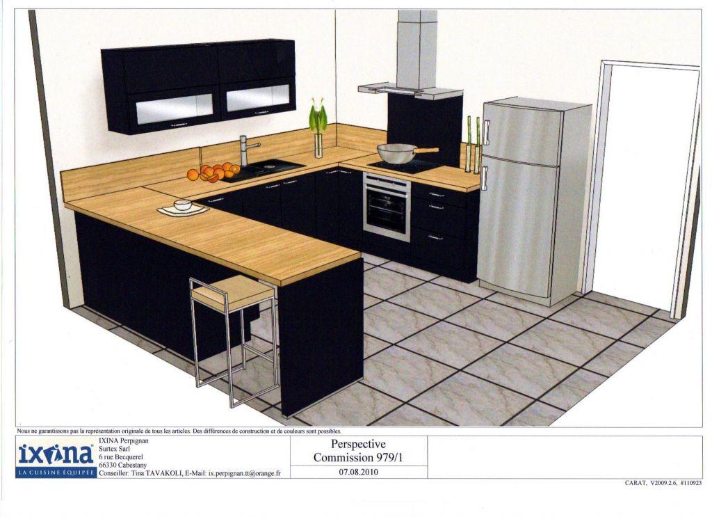 votre avis sur plan de travail avec une cuisine noir 16 messages. Black Bedroom Furniture Sets. Home Design Ideas