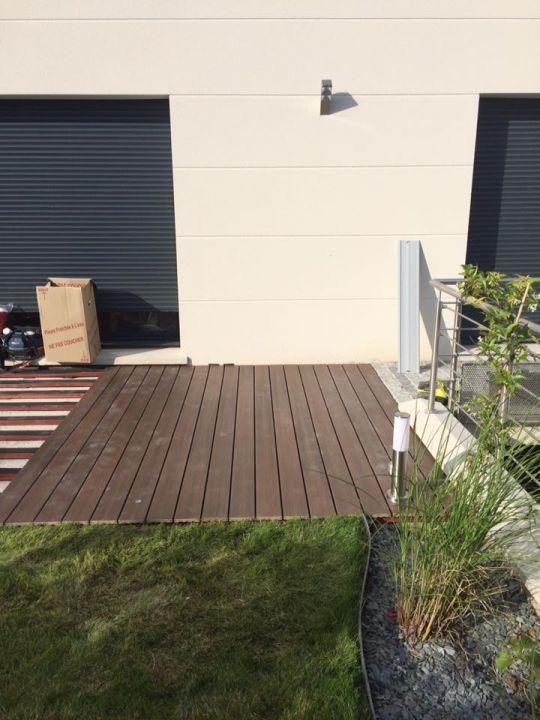 Fleurissement du balcon jardin terrasse en bois composite val d oise for Forum terrasse composite