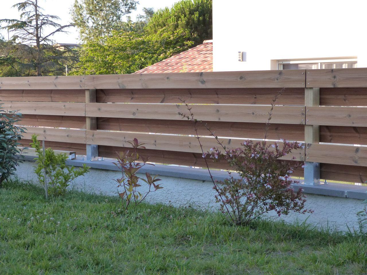 La jolie clôture