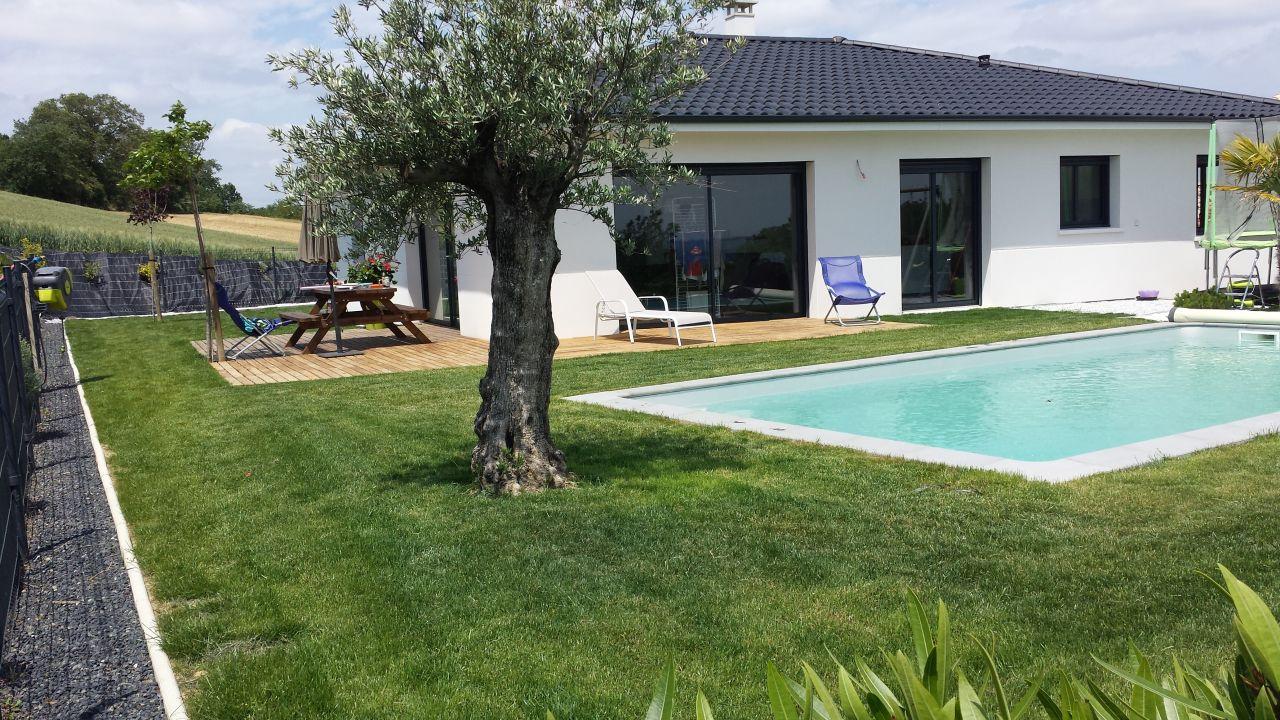 Carrelage des chambres pose de la cuisine piscine for Construction piscine haute garonne