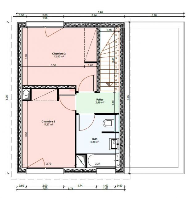notre projet de chez nous maison en ossature bois ex kazal loire atlantique. Black Bedroom Furniture Sets. Home Design Ideas