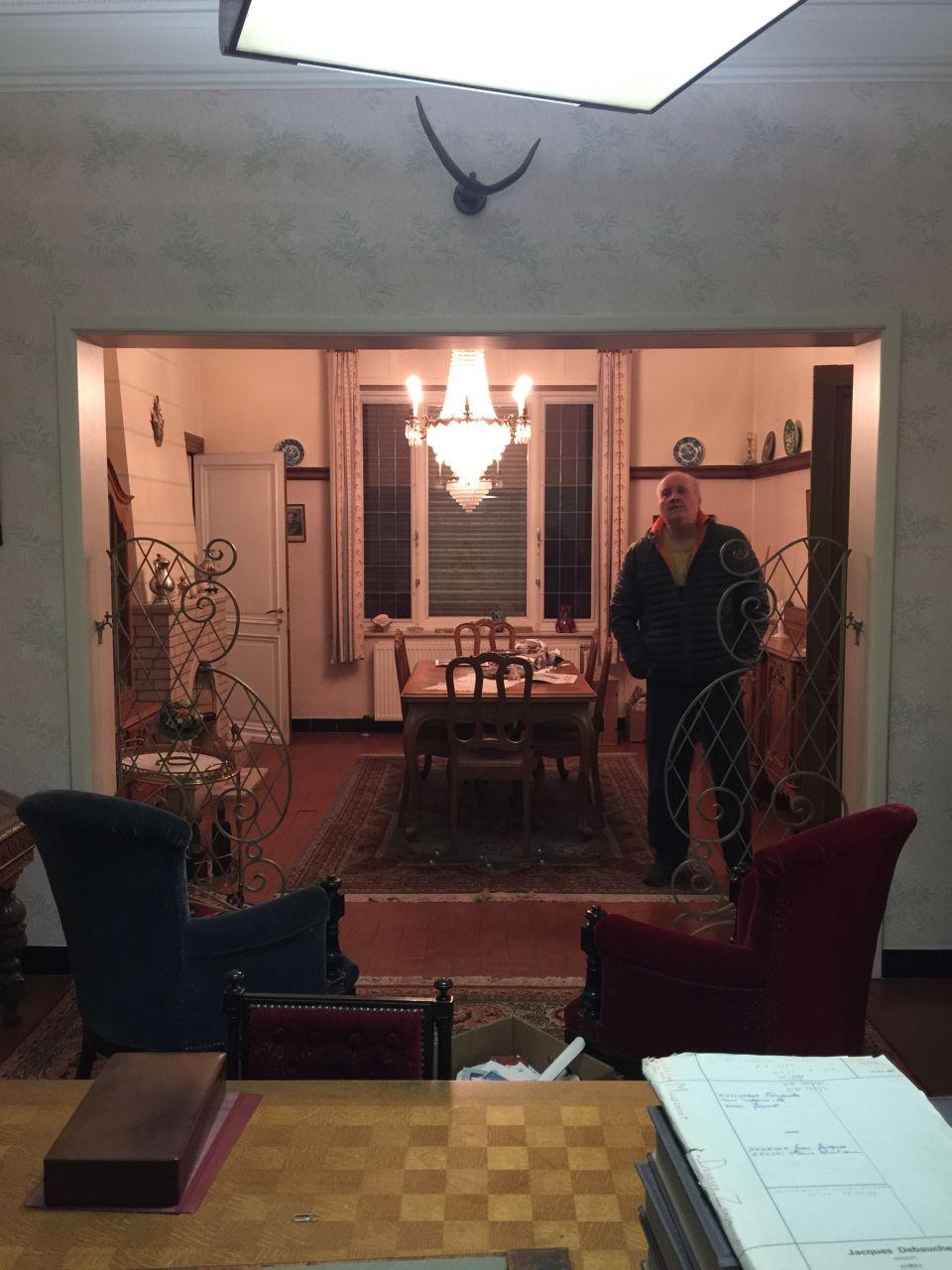 Vue salon (bureau) vers SAM avant que la maison ne soit vidée