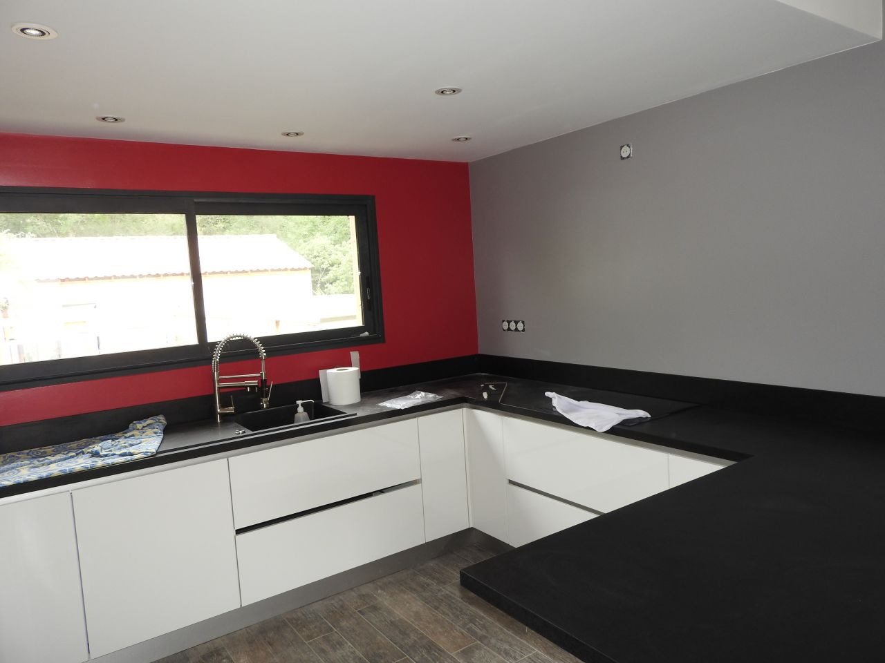 Weekend compliqu cuisine suite fa ence salle de for Carrelage 90x30