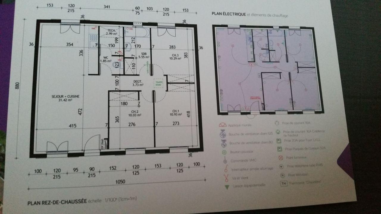 Photo plan de maison plan de maison yvelines 78 for Photo plan