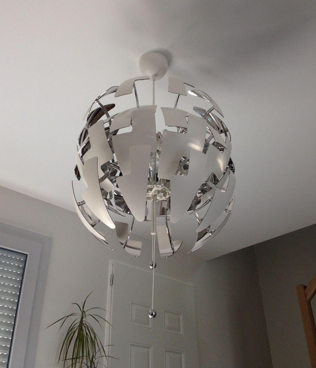 Photo lustre ikea d coration salon salle manger indre et loire 37 - Lustre pour chambre ...