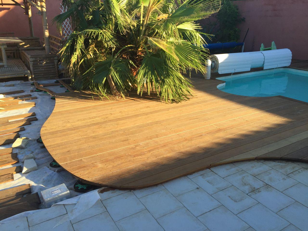R novation am lioration de notre maison terrasse bois de for Amenagement petit jardin 70m2