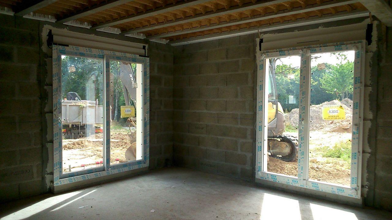 Porte fenetre vitree baie coulissante lapeyre id es de for Porte fenetre vitree