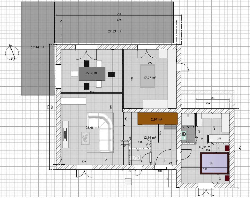 Version N 176 2 Avis Sur Les Plans Maison R 1 Partiel Facade
