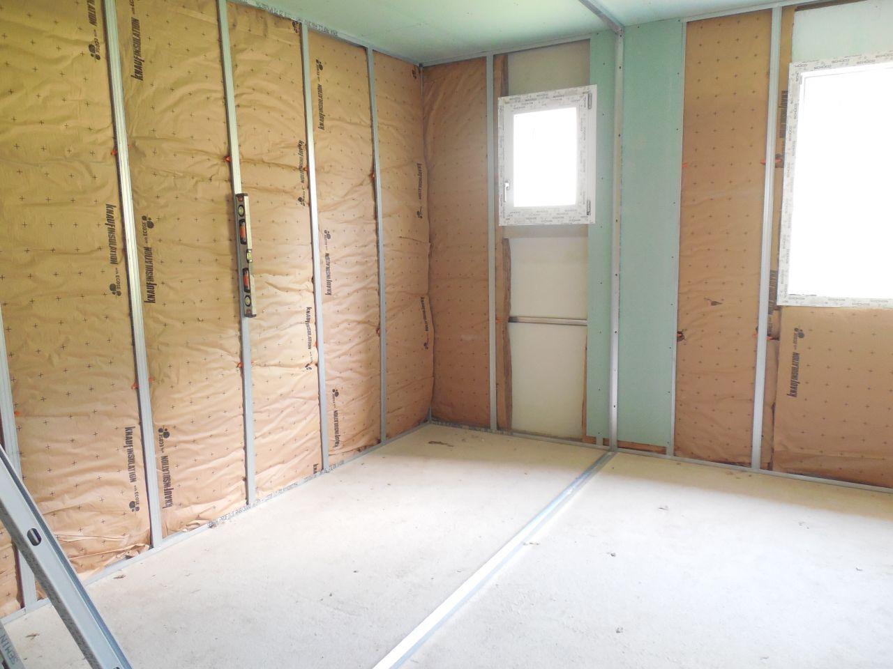 Isolation/Placo - Salle de bain suite parentale.