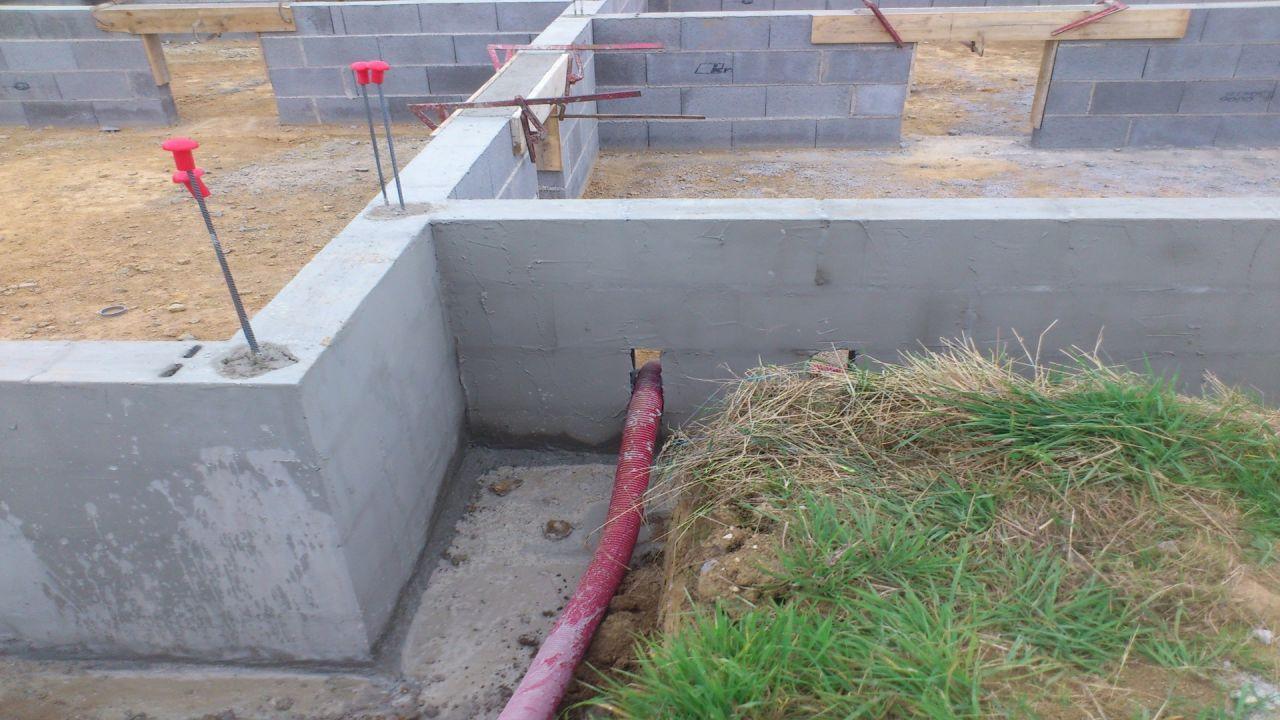 enduit hydrofuge et linteaux