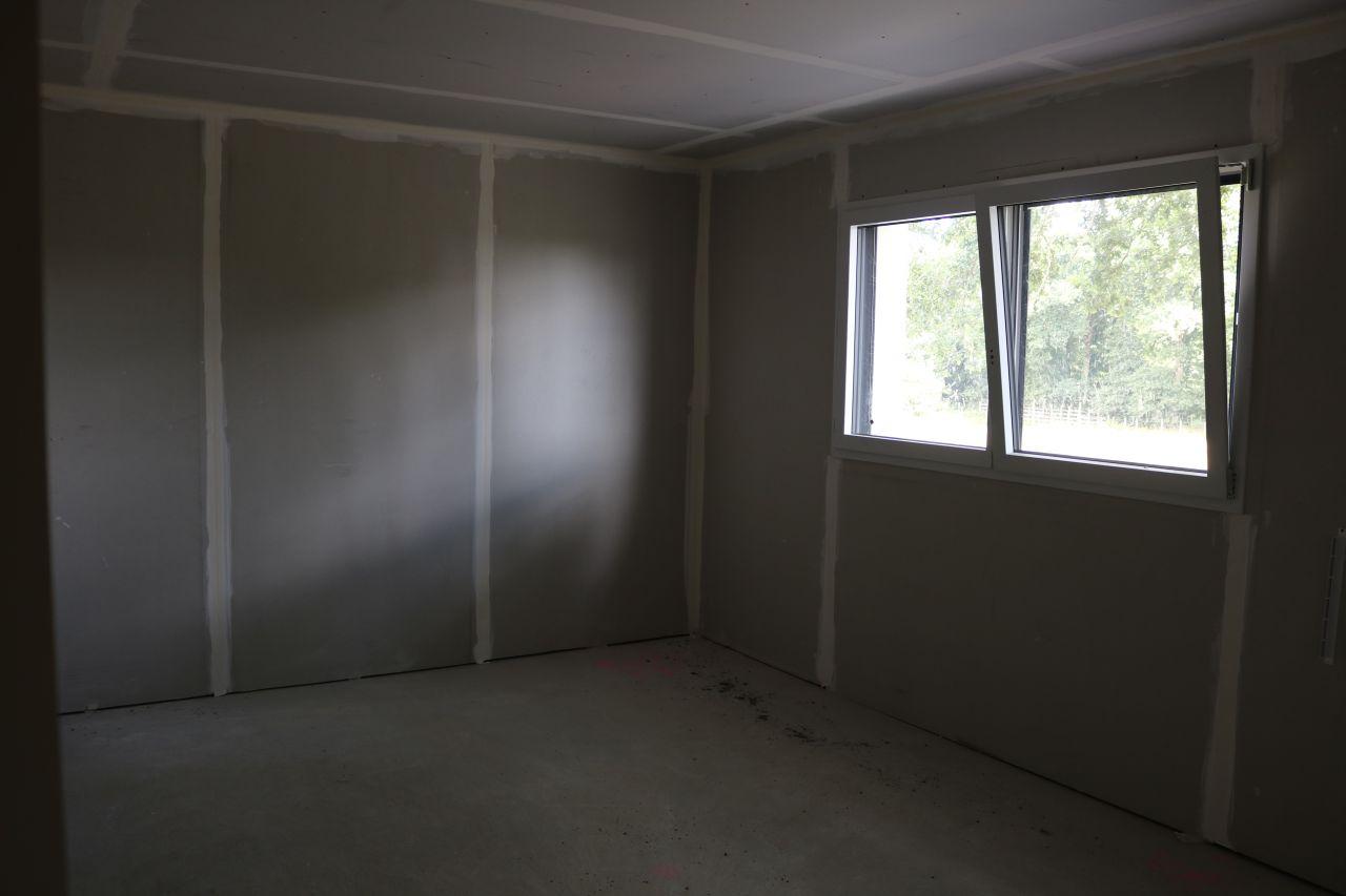 Terrasse et cl tures cloison cloisons du rez de for Chambre 14m2