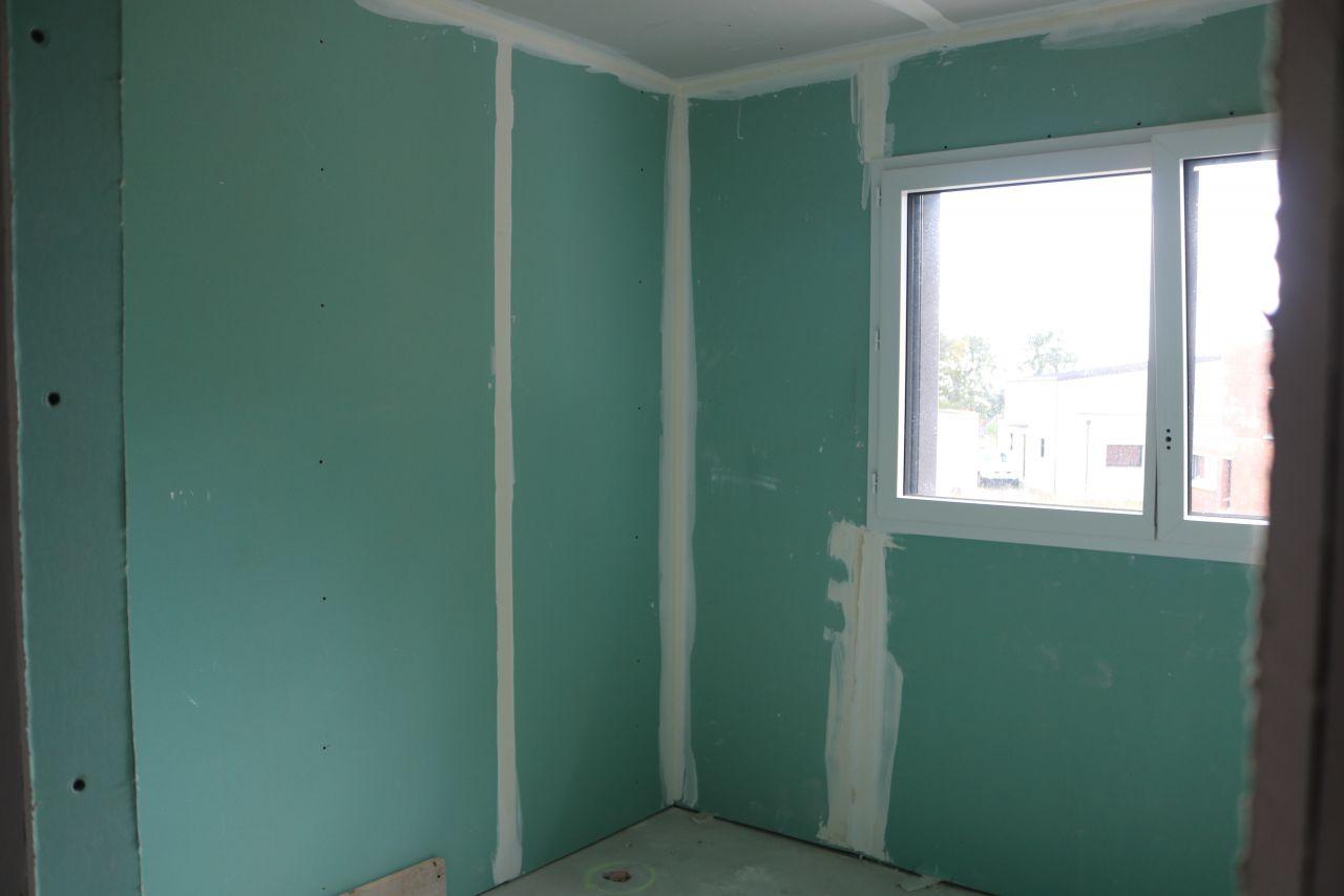 Terrasse et cl tures cloison cloisons du rez de for Salle de bain 8m2