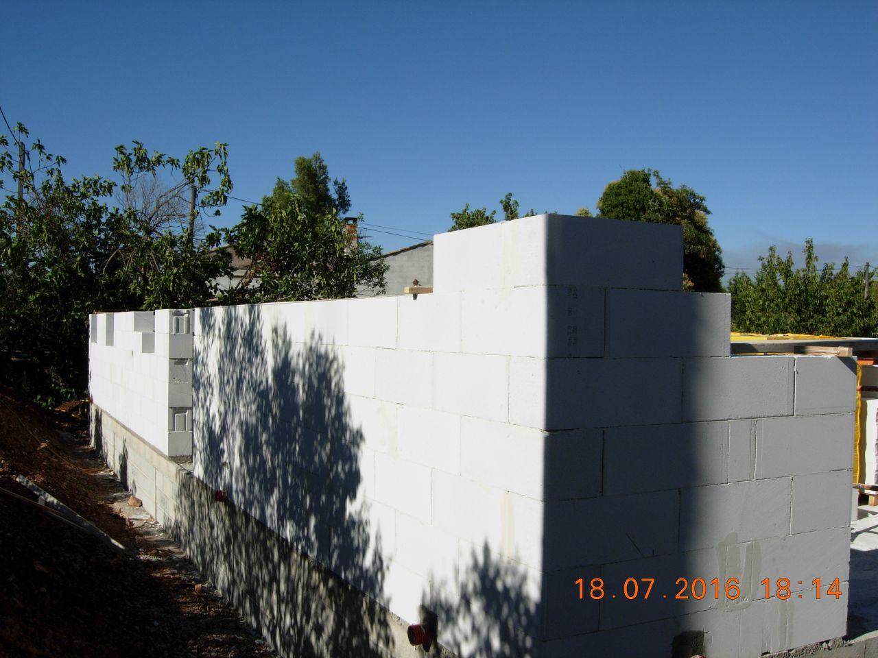 montage des murs rdc