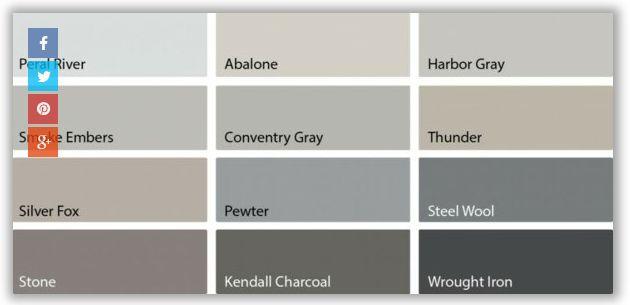 nuancier de gris