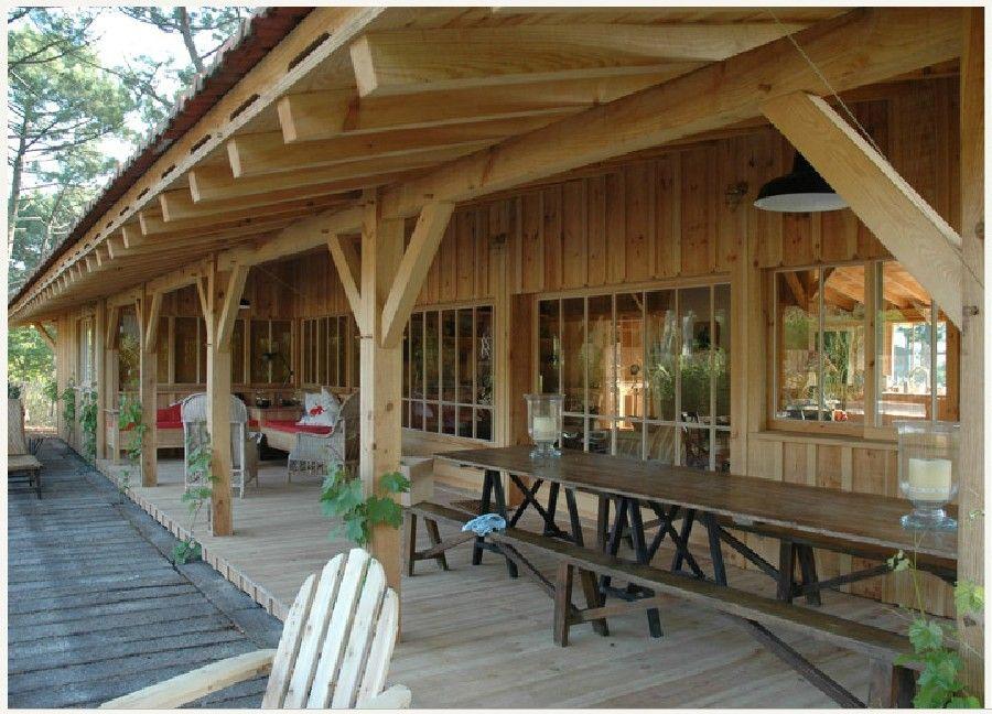Notre maison en bois dans les landes soustons landes for Constructeur de maison en bois dans les landes