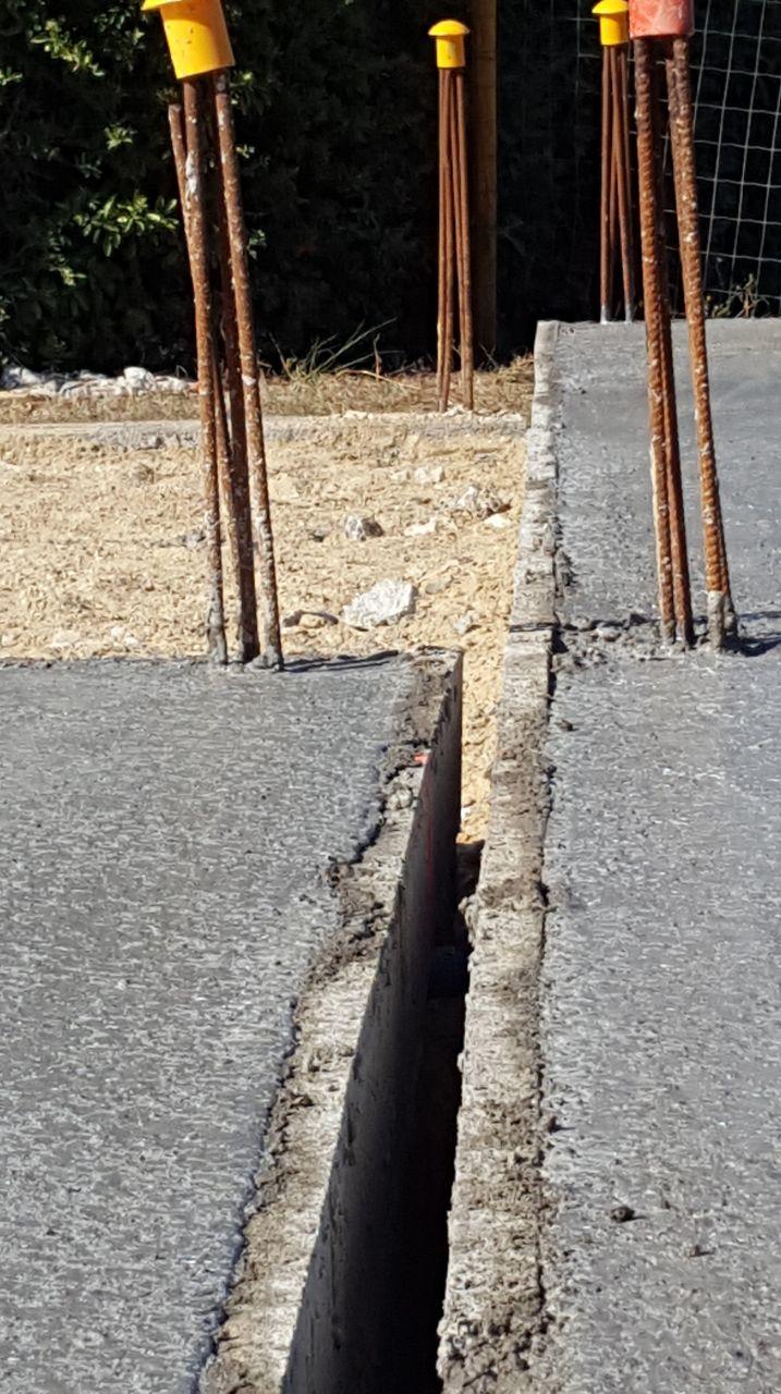 Séparation anti sismique