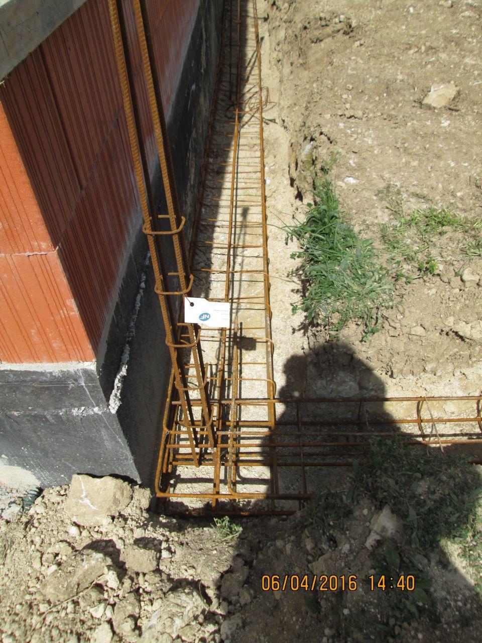 Ferraillage fondations
