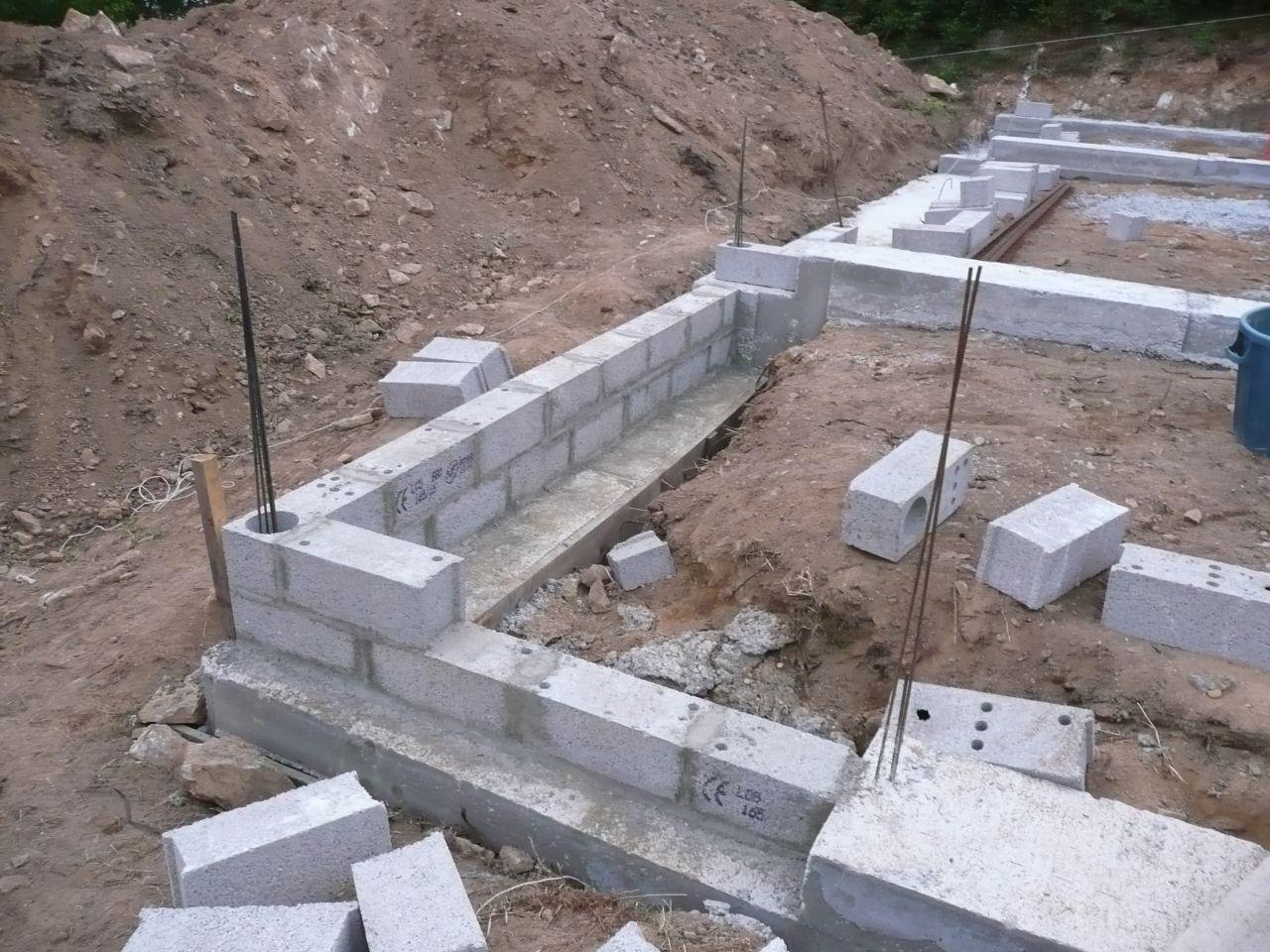 mise à niveau des fondations