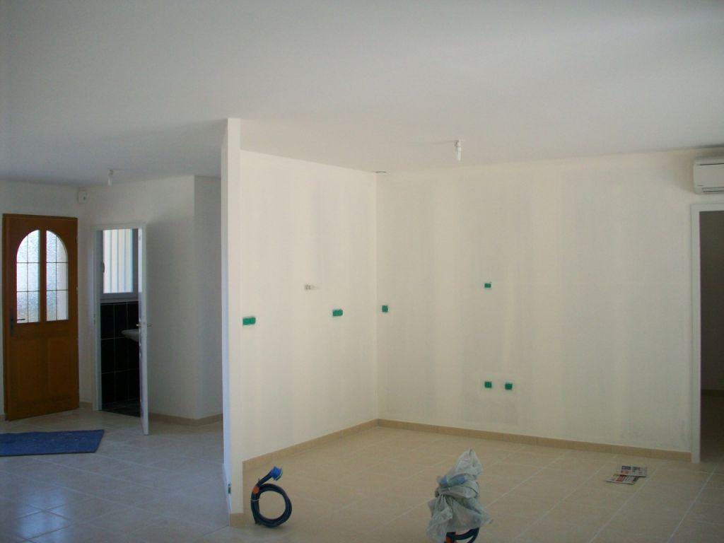 Les peintures murs plafonds portes pose du papier peint la pose de - Retouche peinture plafond ...