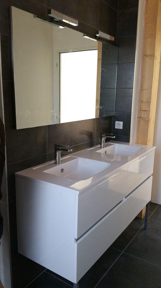 Double vasque étage