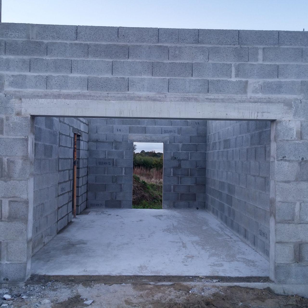 Notre premi re construction sur kersaint plabennec kersaint plabennec finistere - Garage bervas kersaint plabennec ...