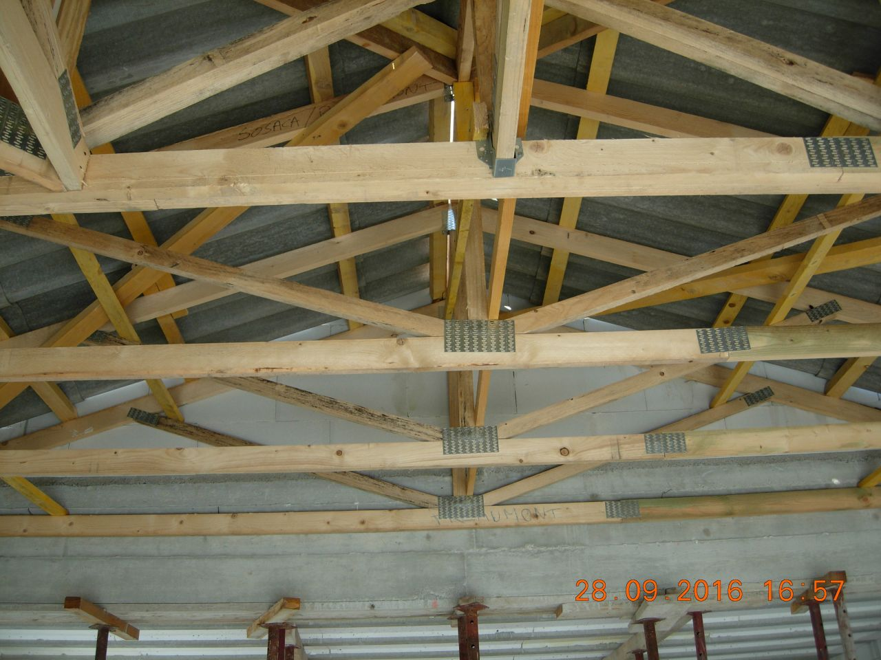 Ferraillage fondation ca bosse vide sanitaire termin var - Changer toiture fibro ciment ...