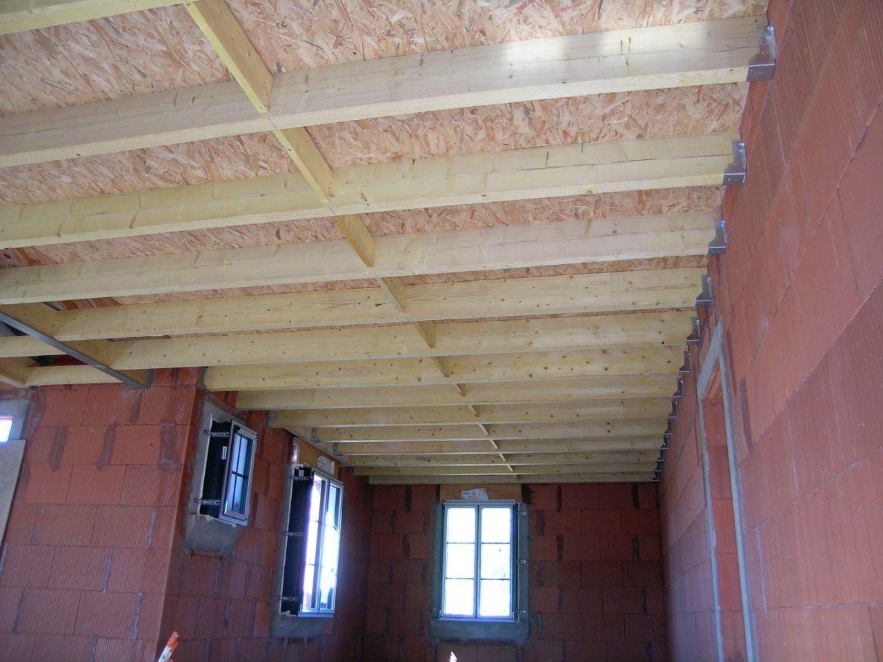 plafond des chambres rdc.