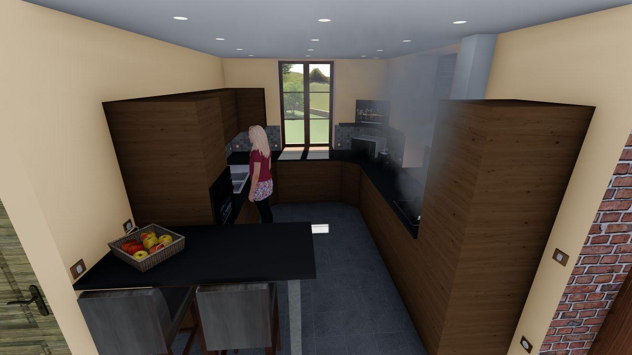 Projet 3D cuisine