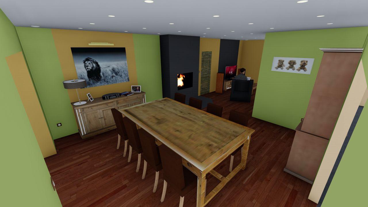 Projet 3D salle a manger