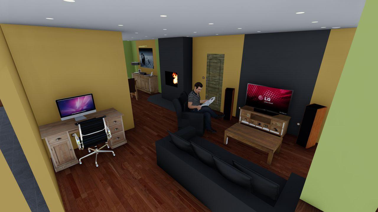 Projet 3D salon