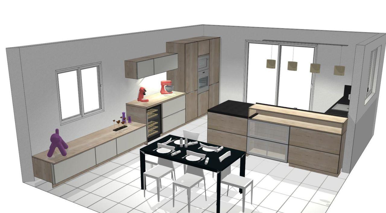 les travaux commencent idee cuisine evacuation des. Black Bedroom Furniture Sets. Home Design Ideas