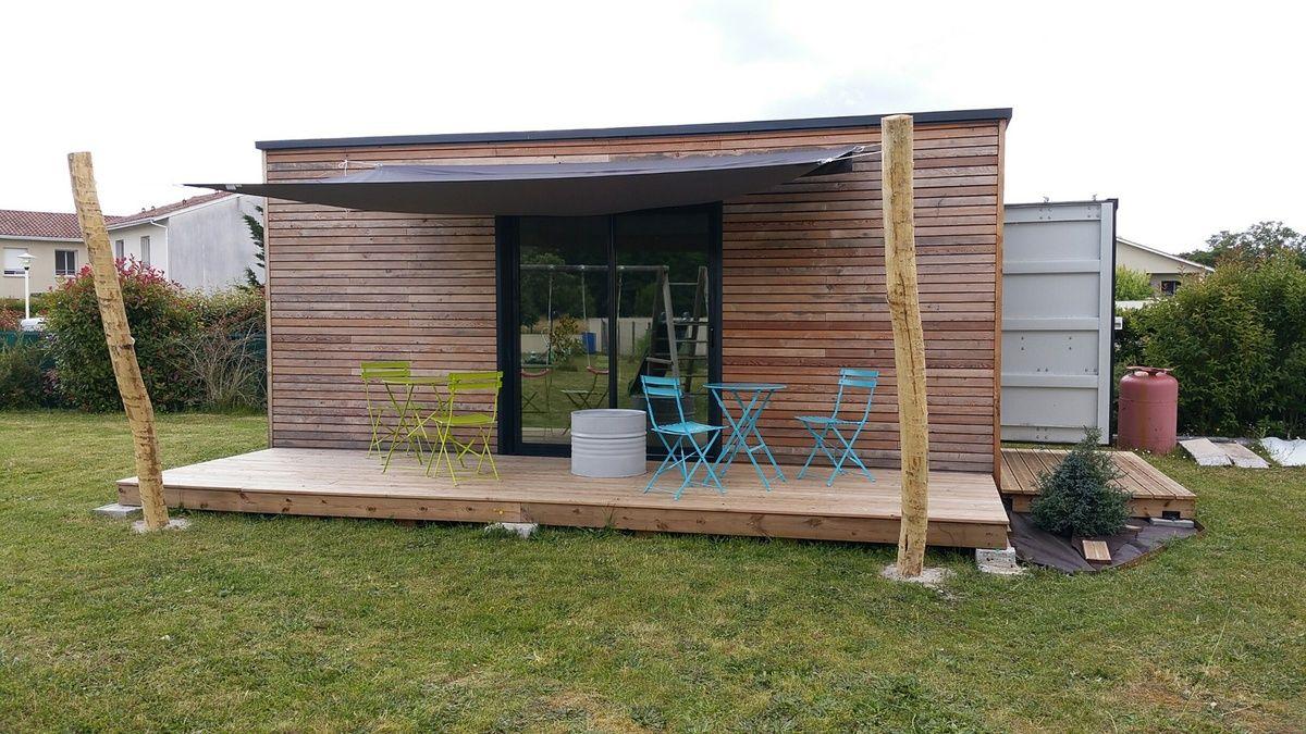 d coupe ext rieur garage en container maritime gironde 26 novembre 2015. Black Bedroom Furniture Sets. Home Design Ideas