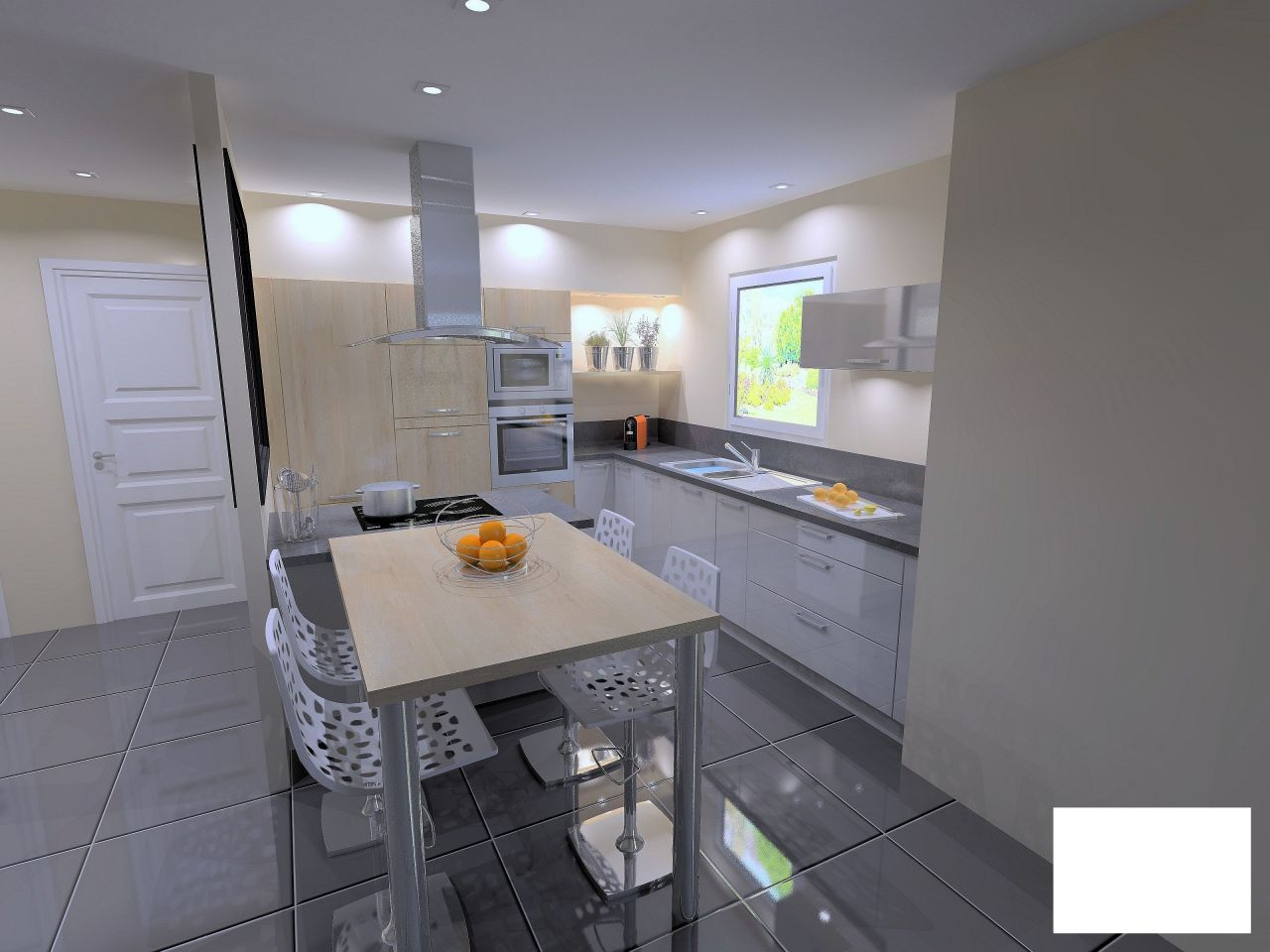notre premi re construction sur kersaint plabennec. Black Bedroom Furniture Sets. Home Design Ideas