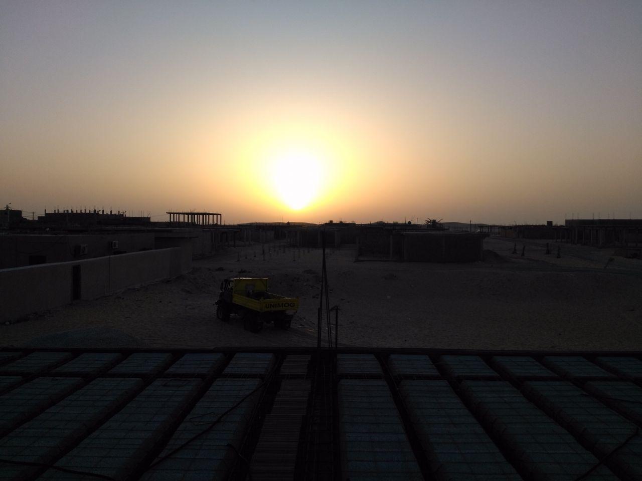 Lever de soleil sur le toit de mon monde...