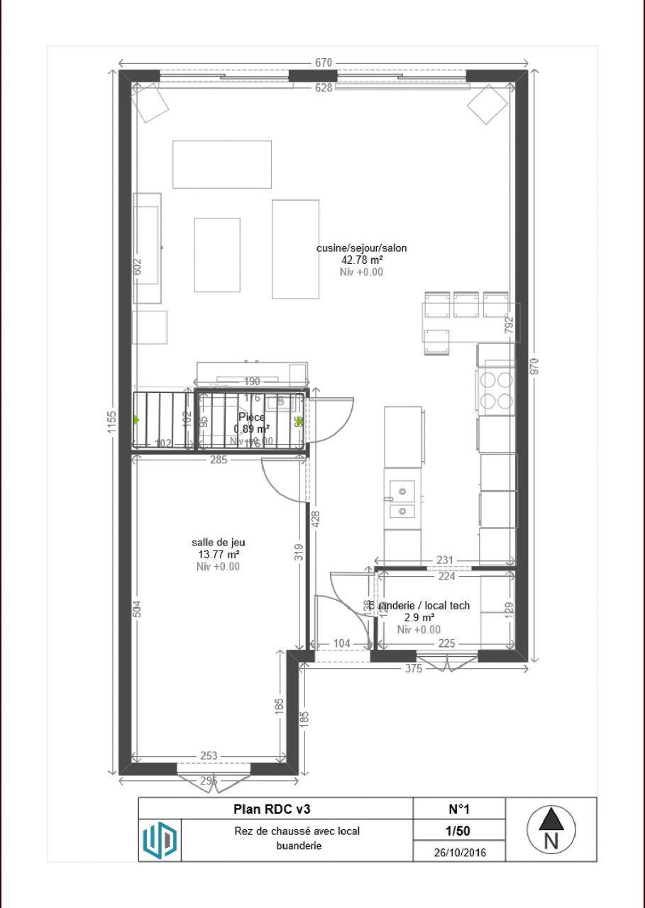 Besoins d 39 avis sur les plan de ma maison r 1 90m2 18 for Plan de ma maison