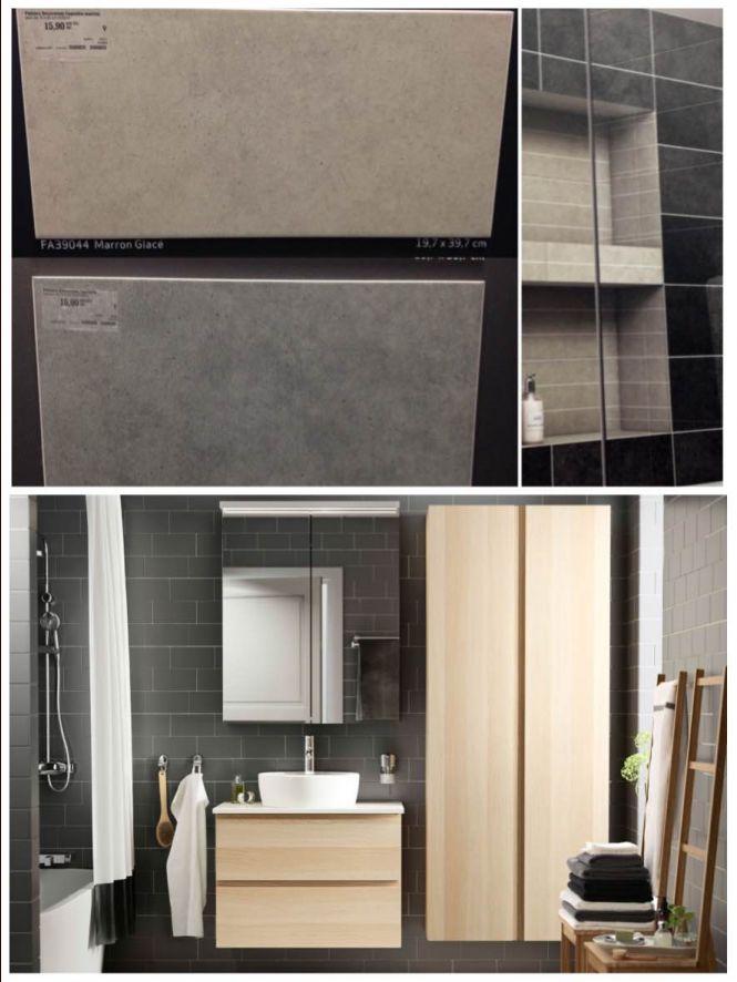 Faïence et meubles de salle de bain