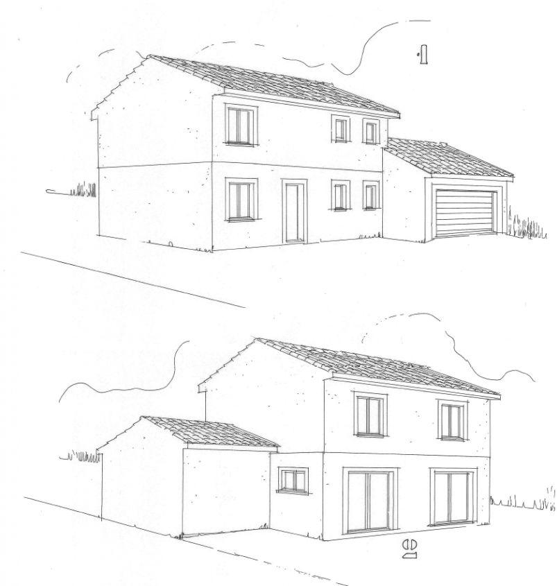 Maison de kryone labarthe sur leze haute garonne for Constructeur de maison haute garonne