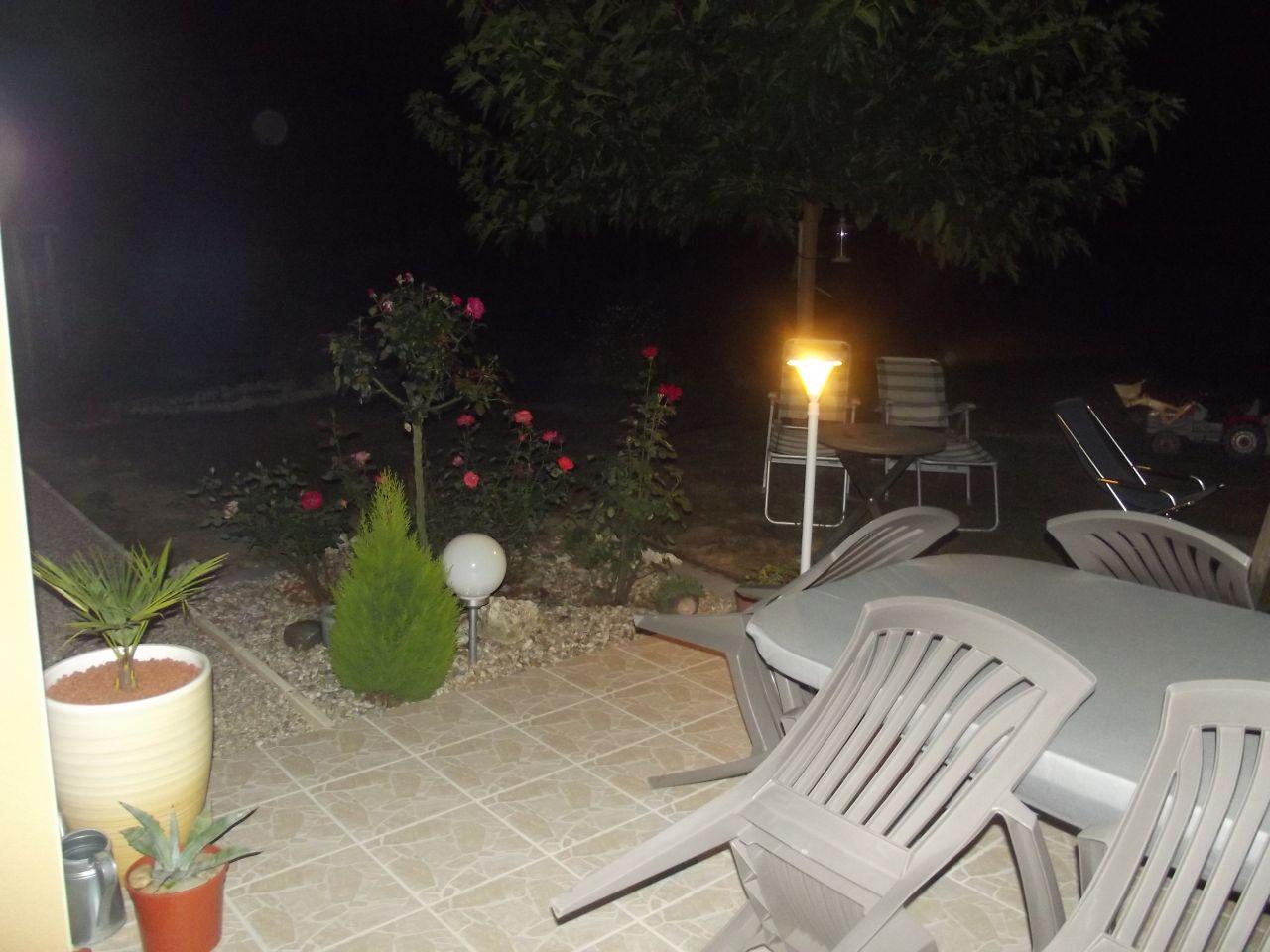 Eclairage de la terrasse opérationnel