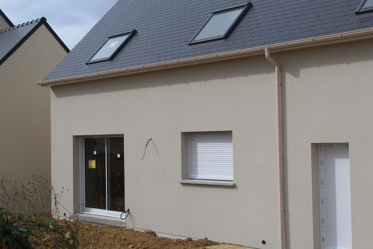 Couleur facade maison maison moderne for Couleur enduit facade maison moderne