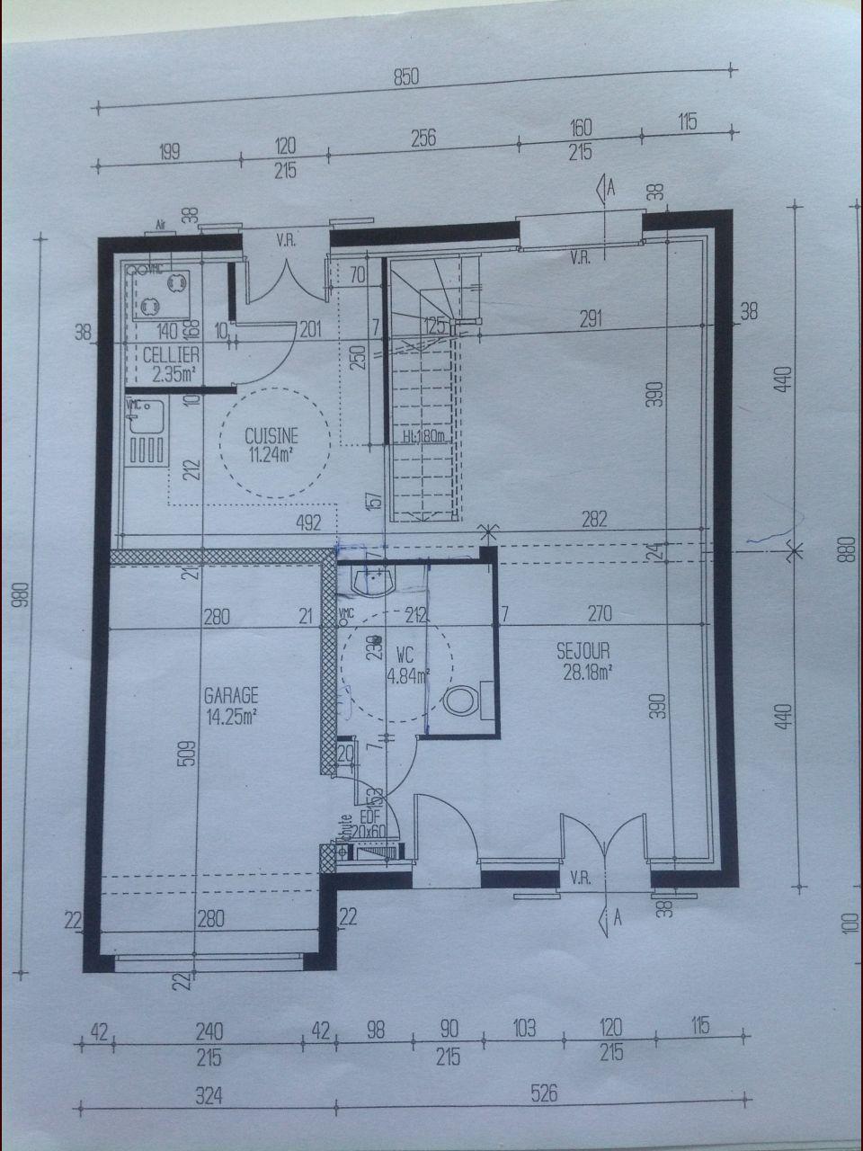 plan de maison home by me