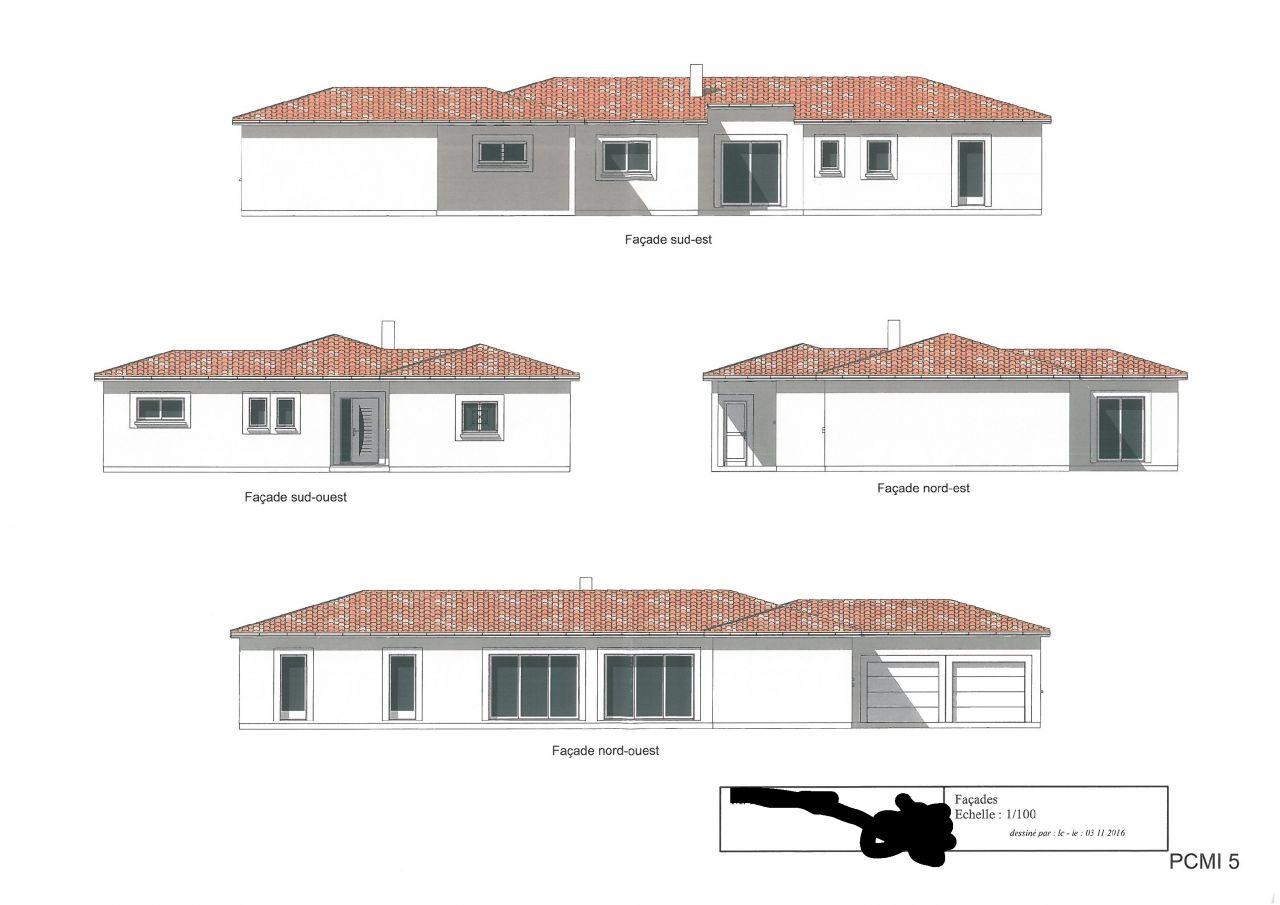 Besoin de conseils am lioration plan de maison plain pied for Plan de maison en v plain pied 4 chambres