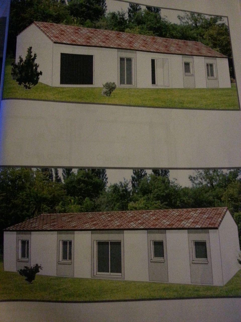implantation informatique de la maison sur notre terrain